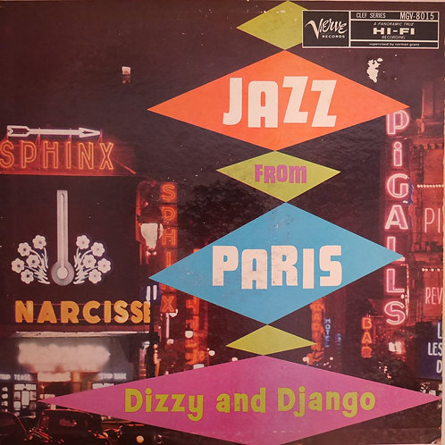 Django Reinhardt and Dizzy Gillespie / Jazz From Paris