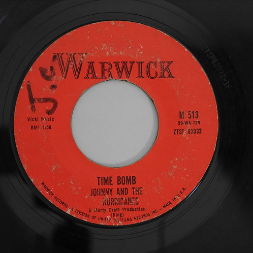 JOHNNY & THE HURRICANES /REVEILLE ROCK / TIME BOMB