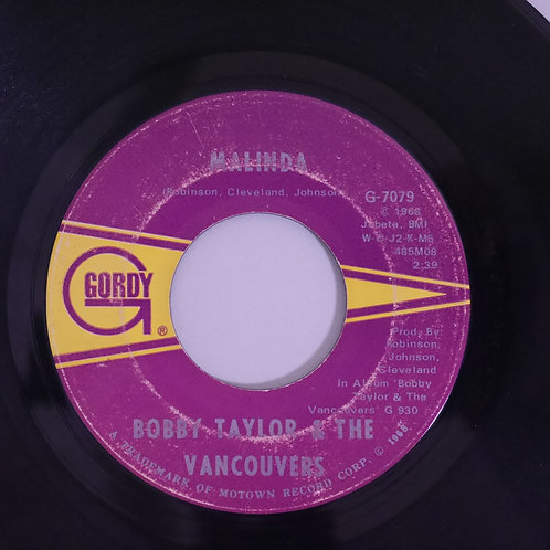 Bobby Taylor & Vancouvers / Malinda