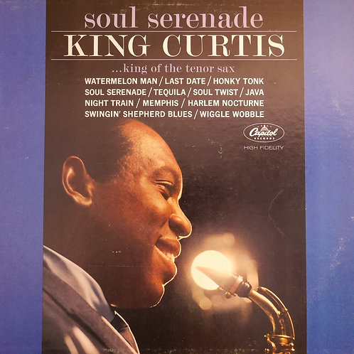 KING CURTIS / SOUL SERENADE USオリジナル MONO