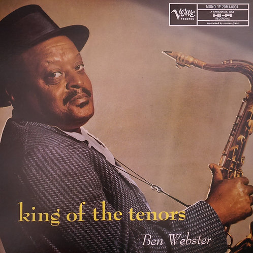 Ben Webster / King of The Tenors     mono