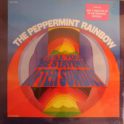 PEPPERMINT RAINBOW / WILL YOU BE STAYING AFTER SUNDAY (未開封品)
