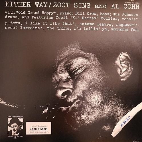 AL COHN & ZOOT SIMS / EITHER WAY