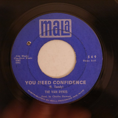 THE VAN DYKES / I'VE GOT TO FIND A LOVE / NEVER LET ME GO