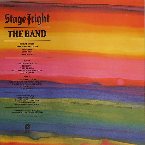 THE BAND / STAGE FRIGHT(STERLING RL刻印)