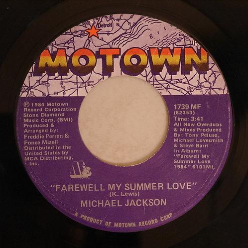 MICHAEL JACKSON / Farewell My Summer Love - Call On Me