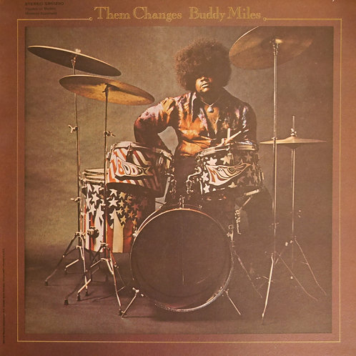 BUDDY MILES / Them Changes(プロモ白ラベ)