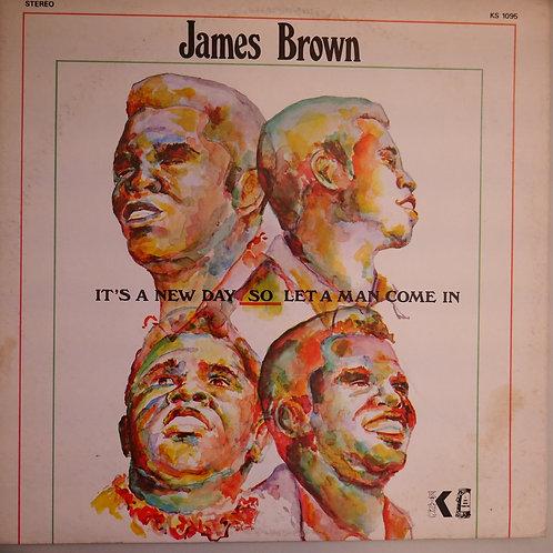 JAMES BROWN /It's A New Day - Let A Man Come In  ソウルの夜明け USオリジナル