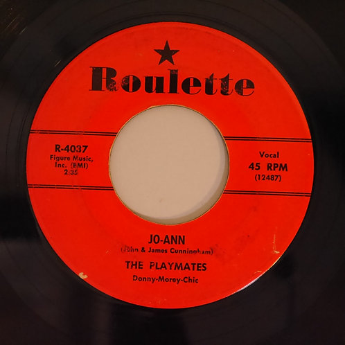 THE PLAYMATES / JO-ANN / YOU CAN'T STOP ME FROM DREAMING