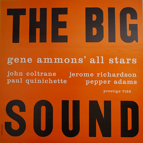 GENE AMMONS JOHN COLSTRANE /THE BIG SOUND PRESTIGE 7132
