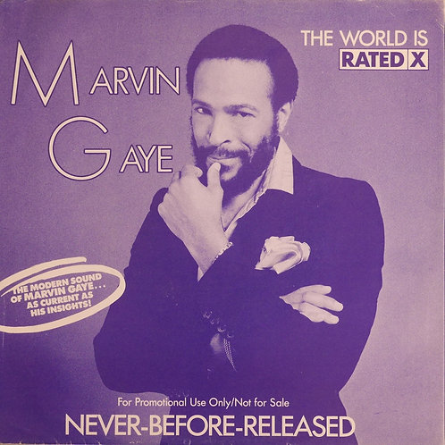 MARVIN GAYE / THE WORLD IS RATED X(45)   プロモ盤