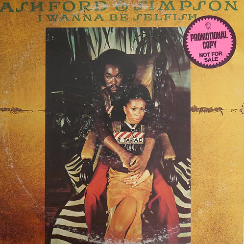 Ashford & Simpson / I WANNA BE SELFISH(プロモ)