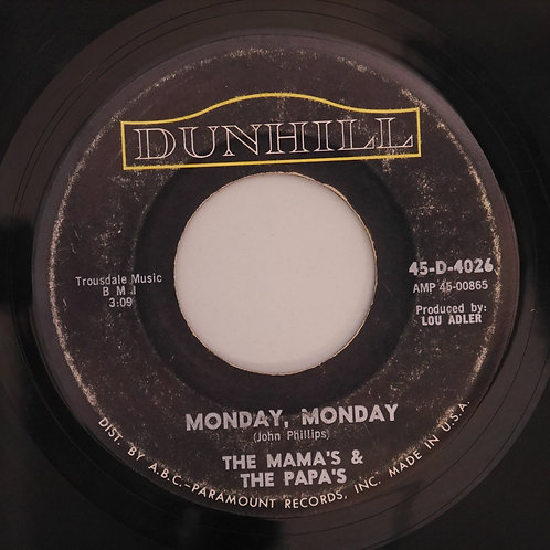 THE MAMA'S AND THE PAPA'S / MONDAY MONDAY