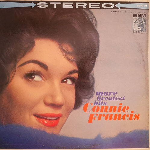 Connie Francis / More Greatest Hits