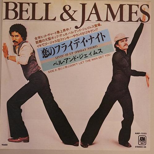 BELL&JAMES  / 恋のフライデイ・ナイト ・Livin' It Up