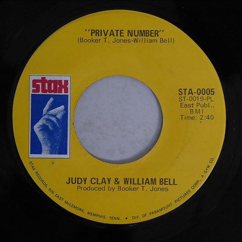 Judy Clay & William Bell / Private Number / Love-Eye-Tis