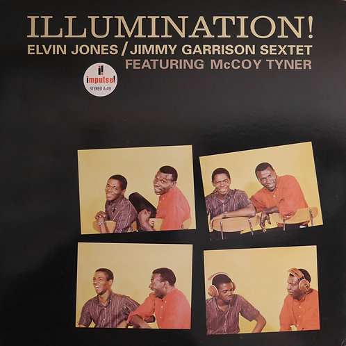 ELVIN JONES / JIMMY GARRISON SEXTET : ILLUMINATION (182g)