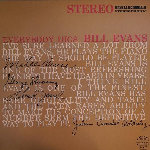 Bill Evans Trio / Everybody Digs Bill Evans