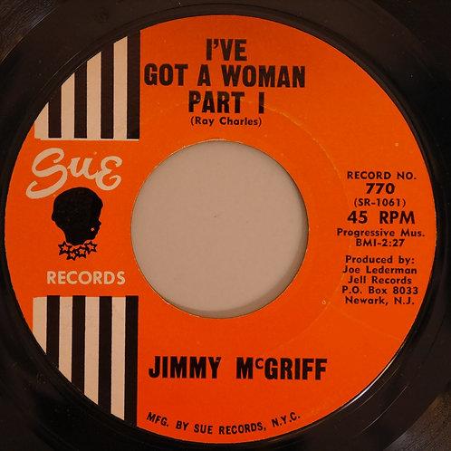 JIMMY McGRIFF / I'VE GOT A WOMAN Part 1 & 2