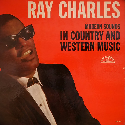 RAY CHARLES /MODERN SOUNDS IN COUNTRY AND WESTERN MUSIC (US MONO)  レア美品