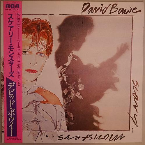 DAVID BOWIE / スケアリー・モンスターズ