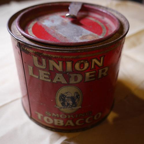 ヴィンテージ 空缶(UNION GEADER たばこ)