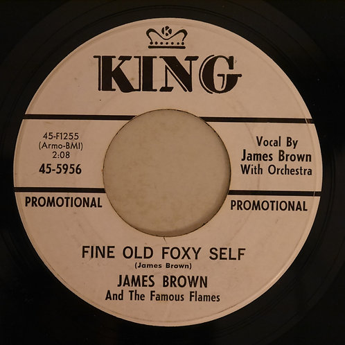 JAMES BROWN &THE FAMOUS FLAMES / Fine Old Foxy Self / Medley (白プロモ)