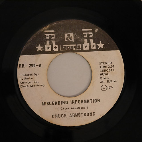 Chuck Armstrong / Misleading Information / She Had The Right