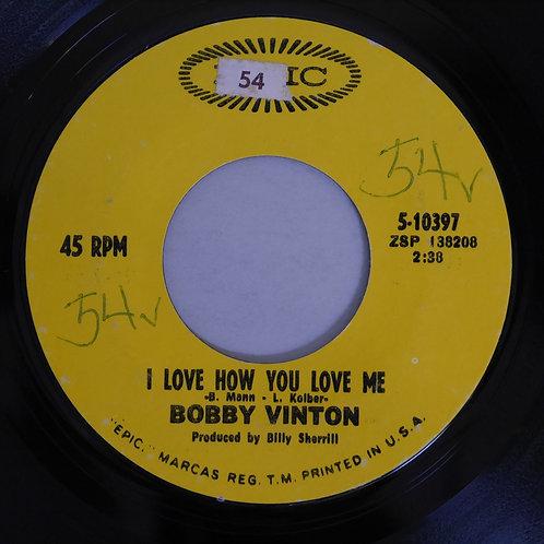 BOBBY VINTON  /I love how you love me/Little barefoot boy