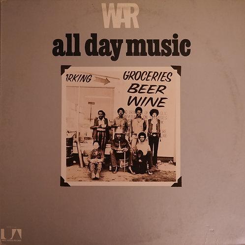 WAR / ALL DAY MUSIC