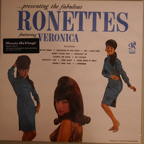 THE RONETTES / Presenting The Fabulous Ronettes Featuring Veronica (180G)