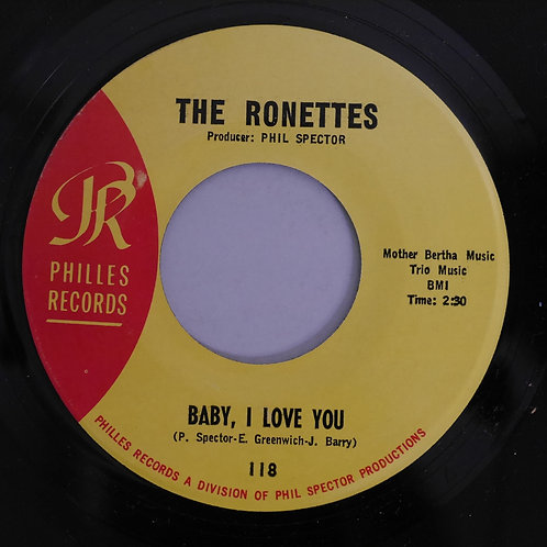 THE RONETTES /Baby, I Love You / Miss Joan & Mr. Sam