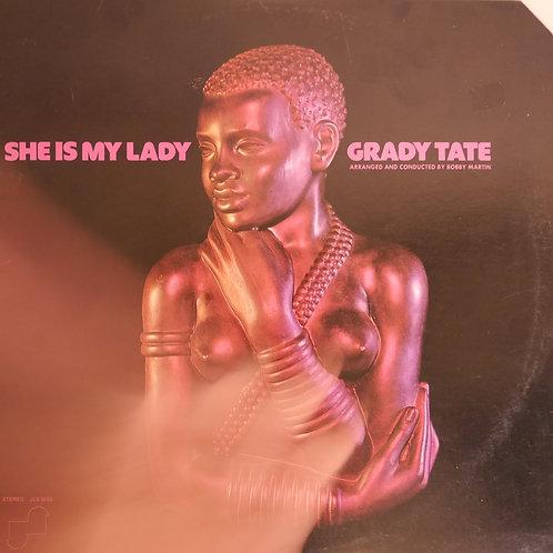 Grady Tate / She Is My Lady(プロモ白ラベル)