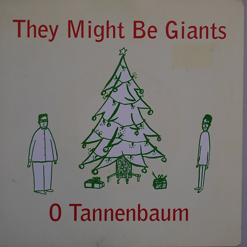 THEY MIGHT ME GIANTS /O TANNENBAUM / CHRISTMAS CARDS