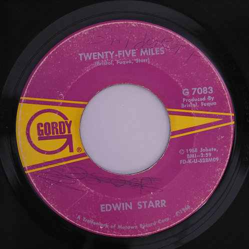 EDWIN STARR /Twenty-Five Miles /Love Is My Destination