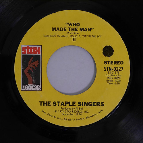 THE STAPLE SINGERS / MY MAIN MAN