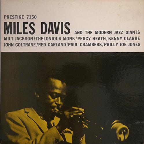 MILES DAVIS / Miles Davis And The Modern Jazz Giants(US MONO オリジナル)