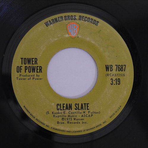TOWER OF POWER / So Very Hard To Go / Clean Slate -7