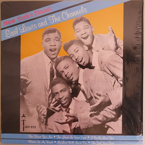 EARL LEWIS AND THE CHANNELS  / New York's Finest