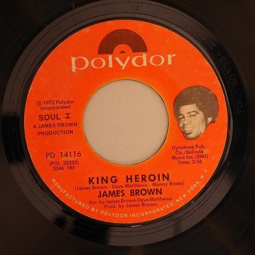 JAMES BROWN / King Heroin / Theme From King Heroin