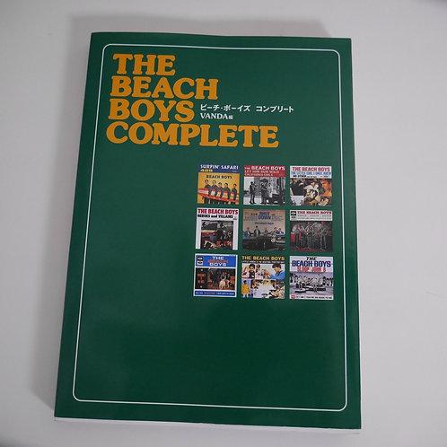 THE BEACH BOYS COMPLETE /ビーチ・ボーイズ・コンプリート (VANDA編 本)