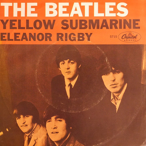 THE BEATLE / Yellow Submarine / Eleanor Rigby (7' PS付き、Scrantonプレス)