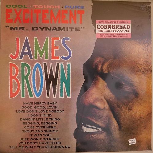 JAMES BROWN /vEXCITEMENT 仏盤 ボーナス4曲トラック 180g HQ盤