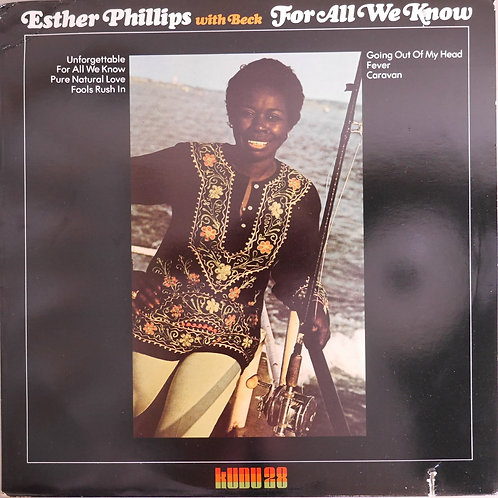 Esther Phillips With BecK / For All We Know