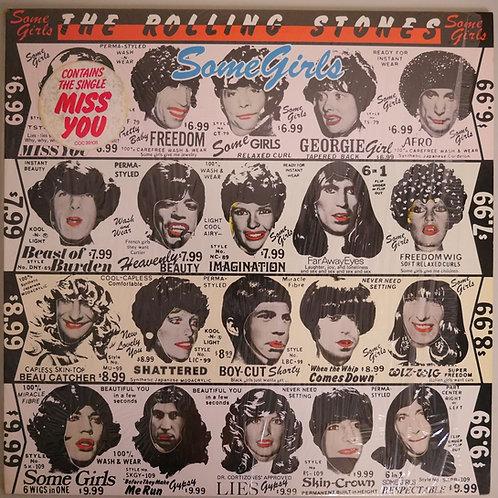 THE ROLLING STONES /Some Girls(US/顔はめ込み特殊ジャケ/COC 39108)