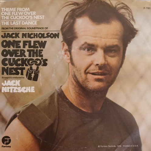 Jack Nitzsche / One Flew Over The Cuckoo's Nest (カッコーの巣の上で) 7'プロモ
