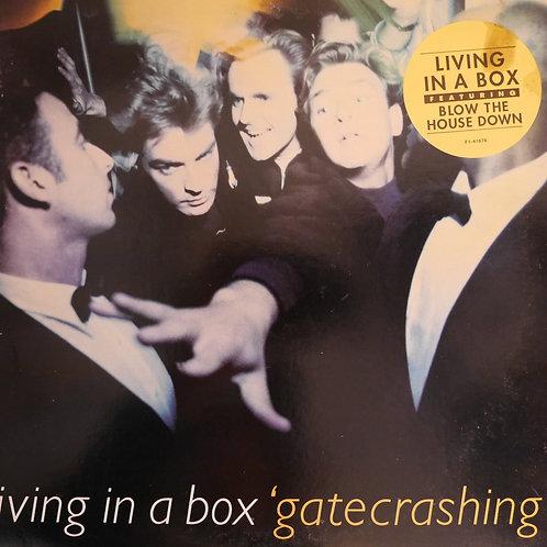 LIVING IN A BOX / GATECRASHING  プロモコピー