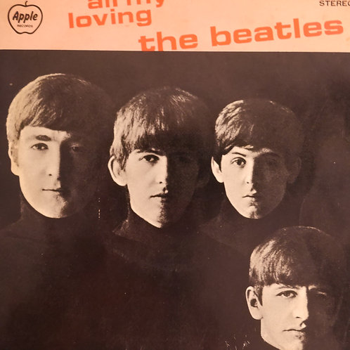 THE BEATLES /  ALL MY LOVING(オリジナル・コンパクトシリーズ)4曲入りEP