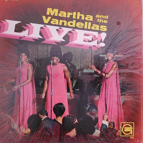 MARTHA AND THE VANDELLAS /Live!