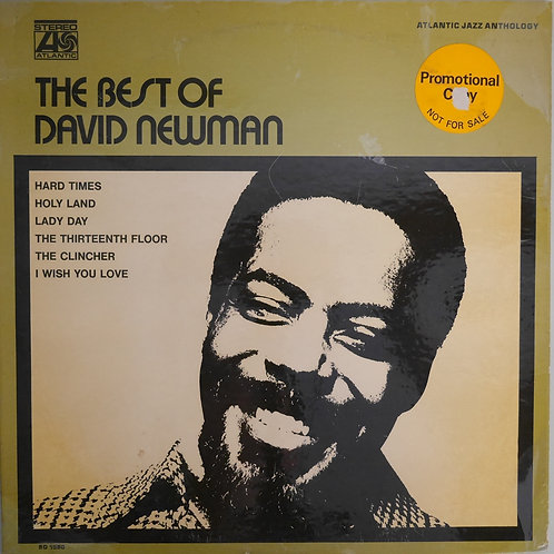 DAVID NEWMAN  / THE BEST OF DAVID NEWMAN(プロモ白ラベ)